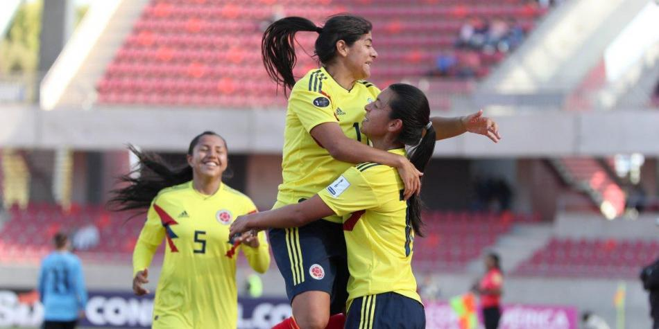 Colombia femenina Chile 2018