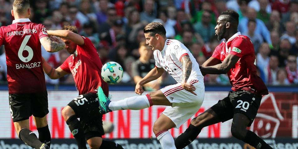 Resultado de imagen de Hannover  0-3  Bayern Munich