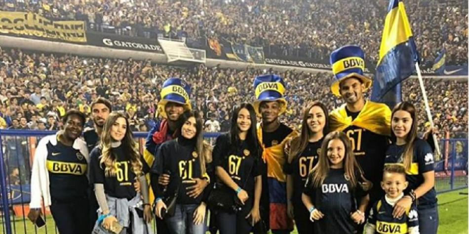 Colombianos en Boca Juniors
