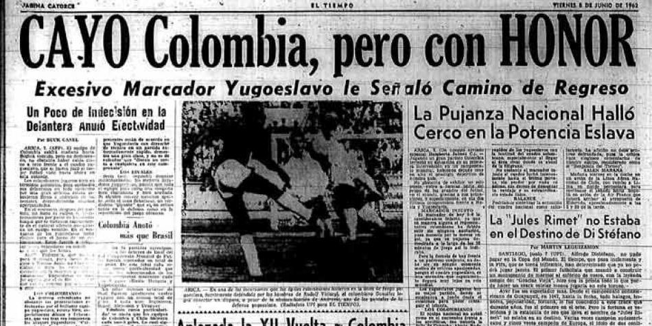 Colombia vs Yugoslavia 1962