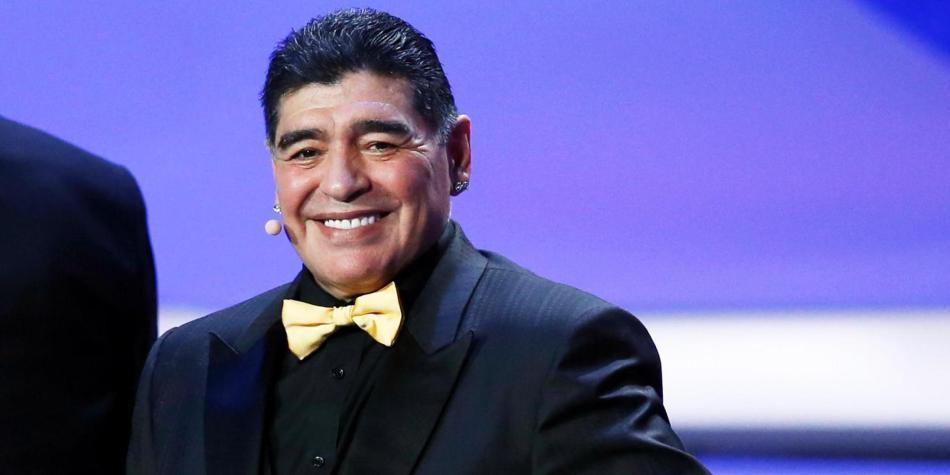FUTBOL MUNDIAL: Reacciona Diego Armando Maradona al Mundial 2026