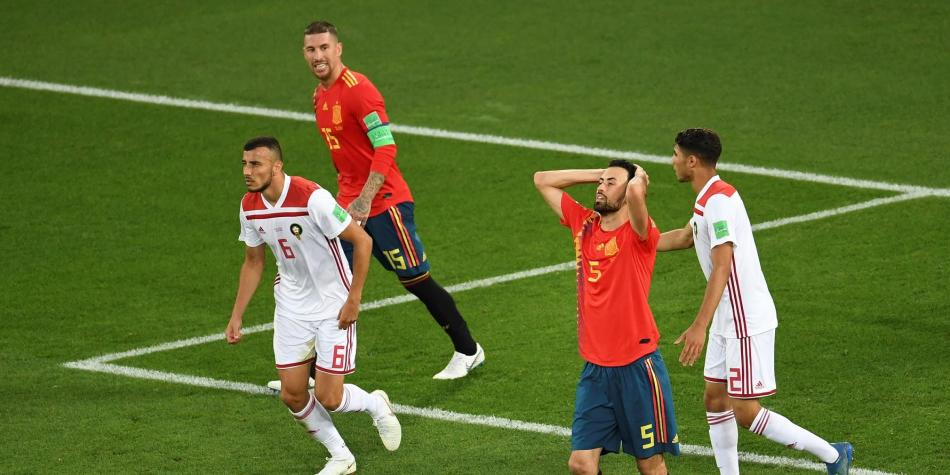 resultado espana marruecos