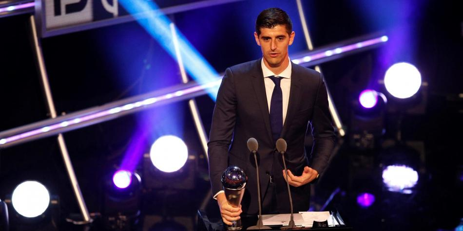 Courtois, Premio The Best al mejor portero de la temporada