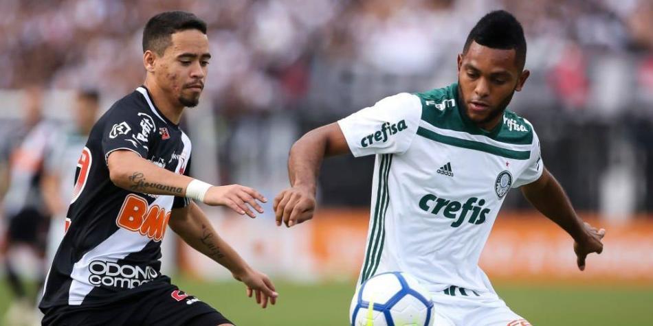 Miguel Borja Palmeiras campeón