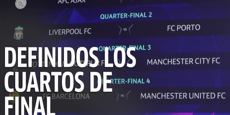 Video: repasamos detalles del sorteo de cuartos de final de ...