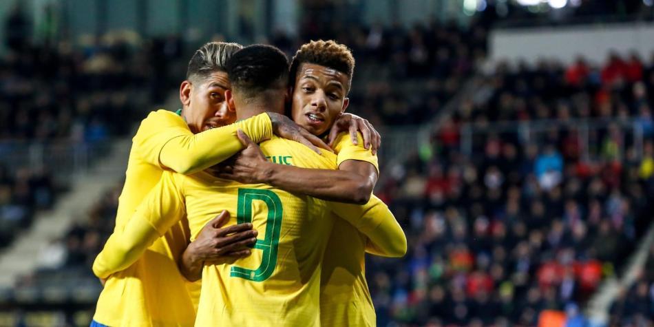 Resultado de imagen para seleccion brasil copa america 2019