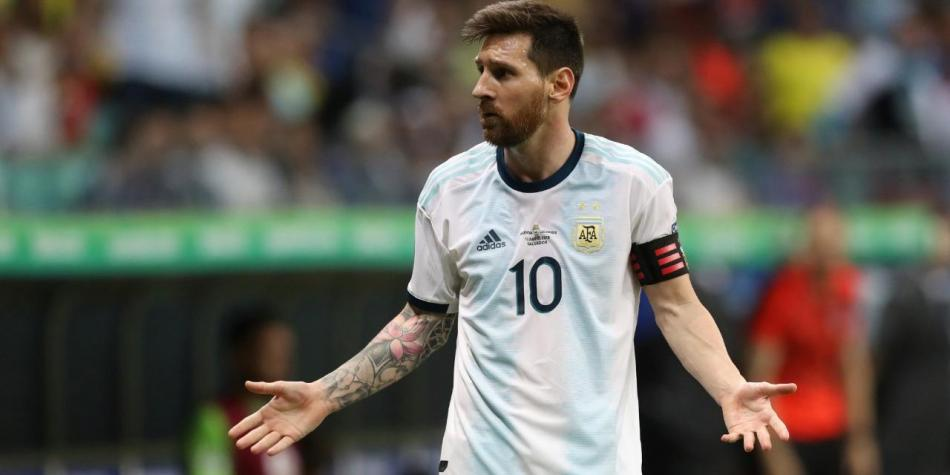 Lionel Messi Argentina Colombia