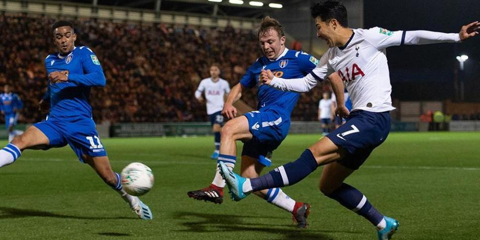 Colchester United vs. Tottenham