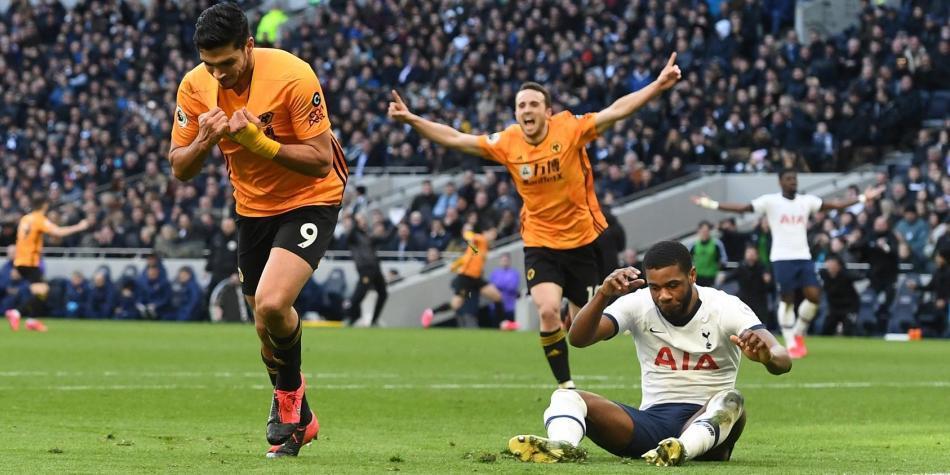 Tottenham perdió con Wolverhampton