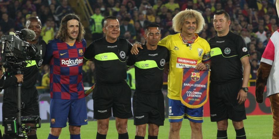 Barcelona Legends Vs. Colombia Legends