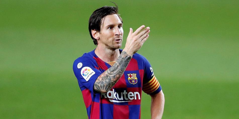 Barcelona contra Leganés: gol de Messi y curiosa celebración ...