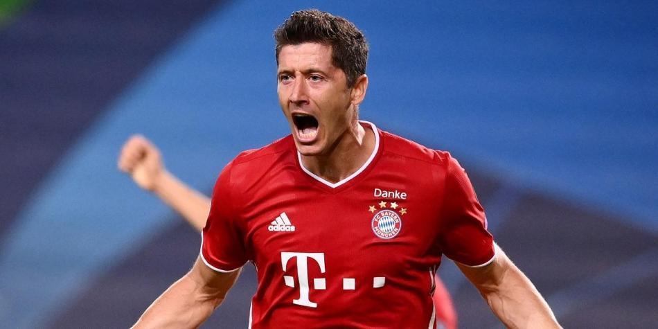 Bayern Múnich vs Lyon Champions League video gol Lewandowski record | Noticias fútbol | Champions League | Futbolred