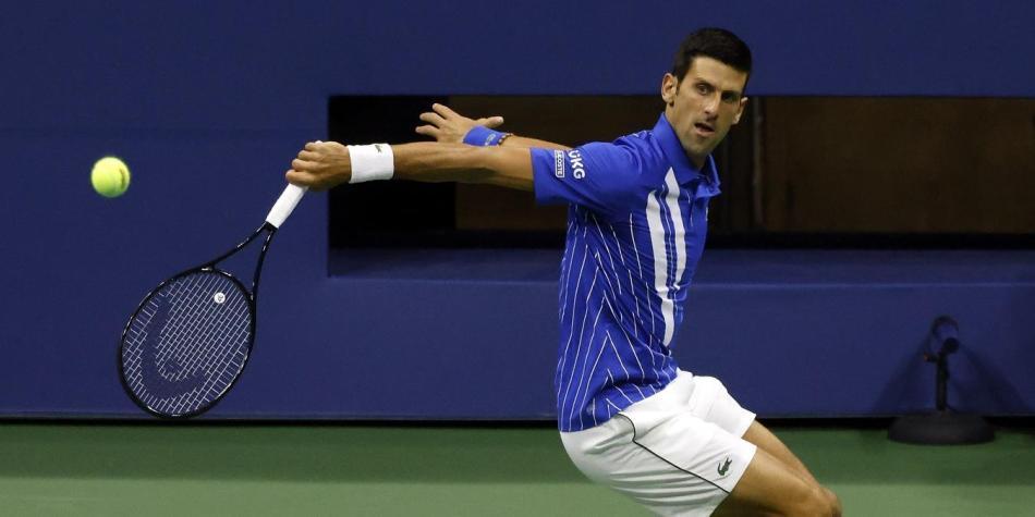 Novak Djokovic Video Descalificado Del Us Open Por Pegarle A Un Juez Grand Slam Hoy Noticias Tenis Fuera Del Futbol Futbolred