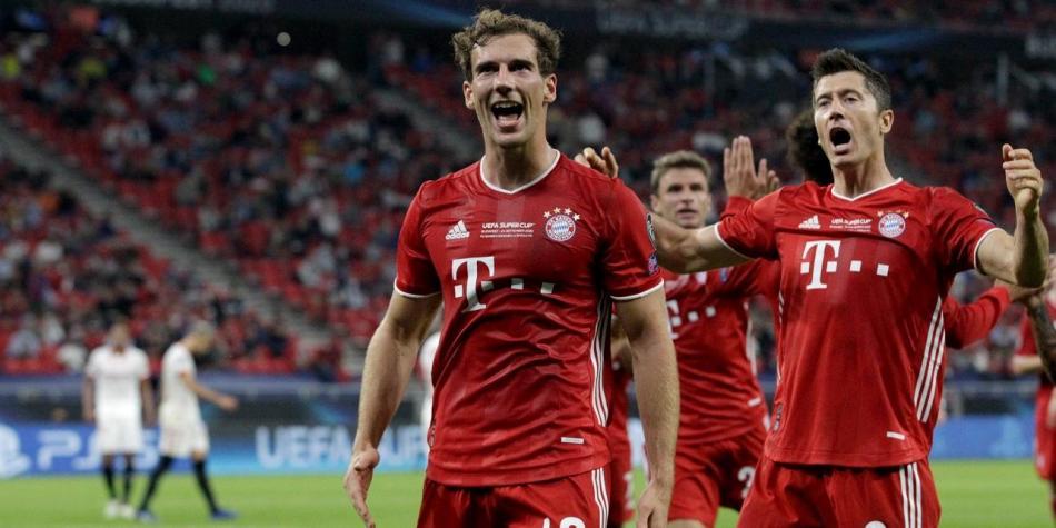 Bayern Múnich vs Sevilla en vivo online gratis Supercopa de Europa 2020    Otras Ligas de Fútbol   Futbolred