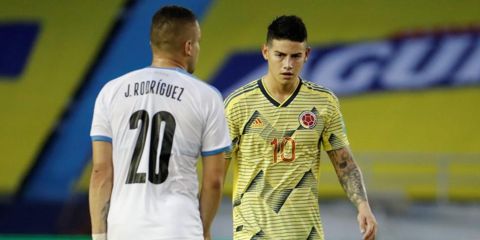 James Rodríguez: mensaje en redes tras la derrota con Uruguay en  Eliminatorias | Selección Colombia | Futbolred