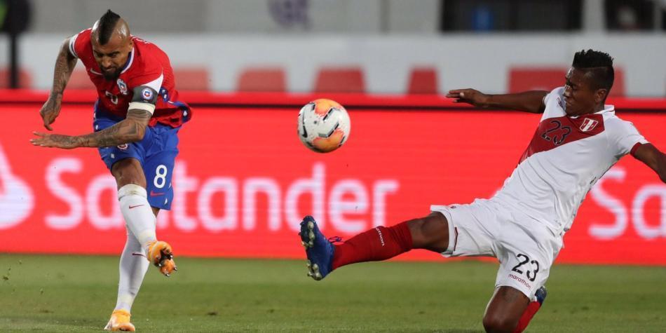 Video: vea gratis hoy los goles de Chile vs Perú   Eliminatorias Conmebol  Qatar 2022   Selecciones Nacionales   Futbolred