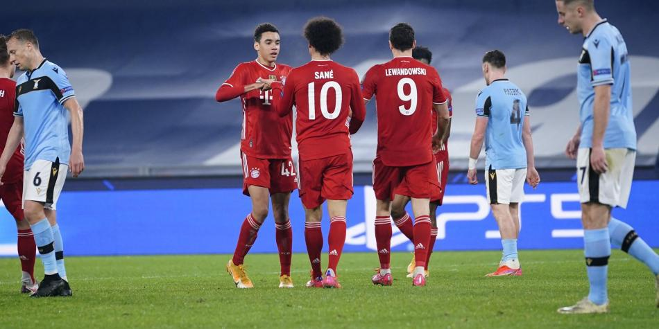 Bayern Múnich venció 1-4 a Lazio en octavos de final de Champions | Vea los  goles | Champions League | Futbolred