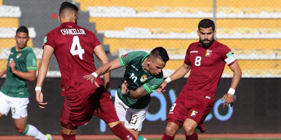 Bolivia vs Venezuela goles del primer partido fecha 7 de eliminatorias  sudamericanas | Mundial Qatar | Futbolred
