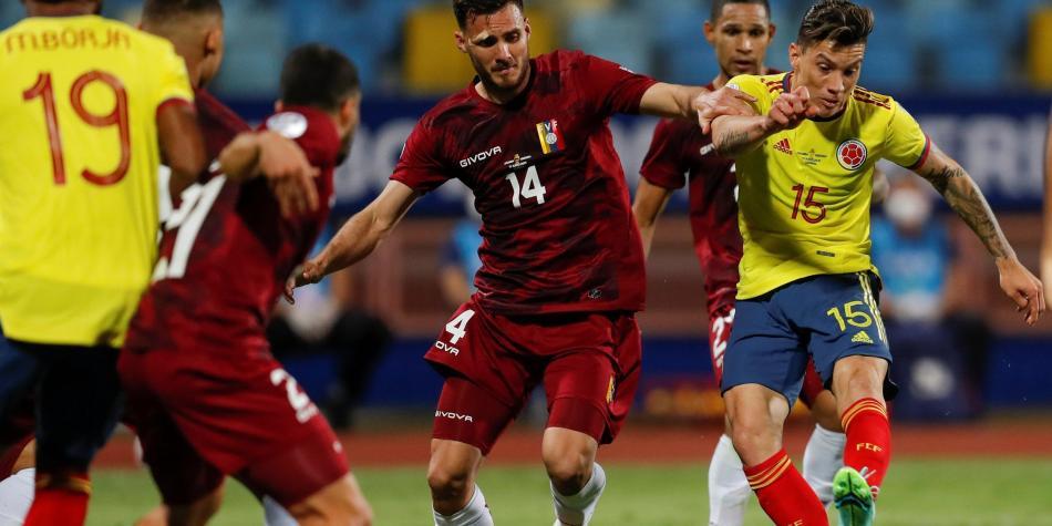 Colombia vs Venezuela: los mejores datos del partido de Copa América 2021 y  Selección | Estadísticas | Copa América 2021 | Futbolred