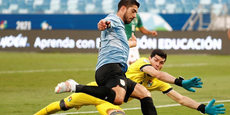 Uruguay derrota a Bolivia y avanza en la Copa América, cerrará la fase de grupos ante Paraguay