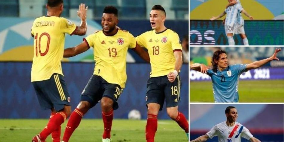 Selección Colombia: balance contra Argentina, Paraguay y Uruguay rival en Copa  América | Copa América 2021 | Futbolred