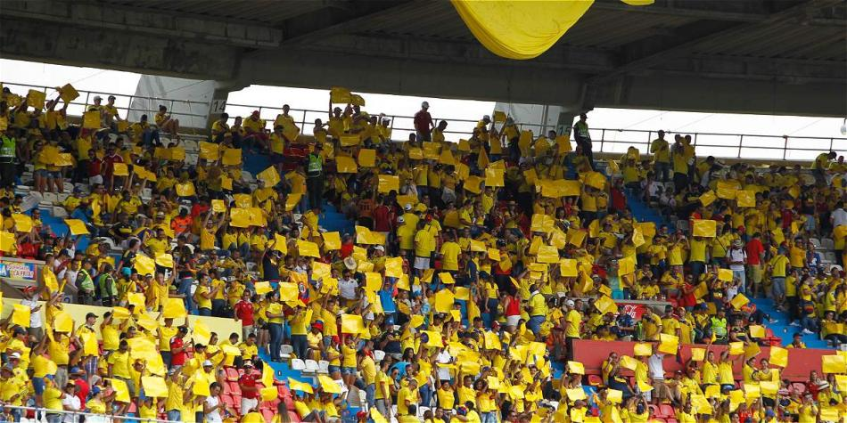 Los hinchas de la Selección Colombia seguramente acompañarán en el partido contra Paraguay.