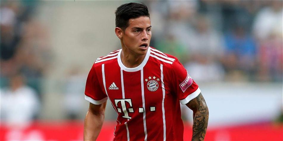 Con buen debut de James Rodríguez, Bayern Múnich venció 2-0 al Bremen