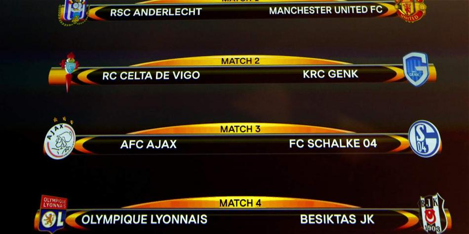 CUARTOS DE FINAL EUROPA LEAGUE 2019