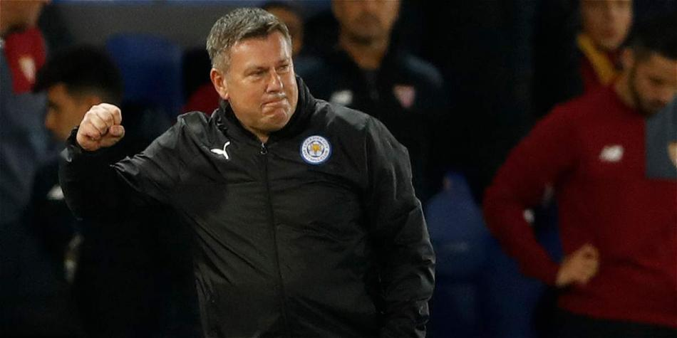 Craig Shakespeare, DT del Leicester.