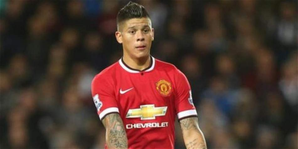 Marcos Rojo, defensor de Manchester City.