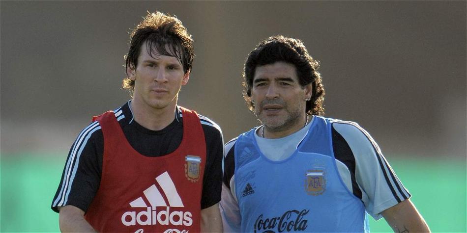 Diego Maradona critica a Messi por no tener jerarquía en Argentina |  Selecciones Nacionales | Futbolred
