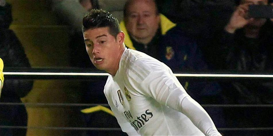 James Rodríguez, figura de Real Madrid.