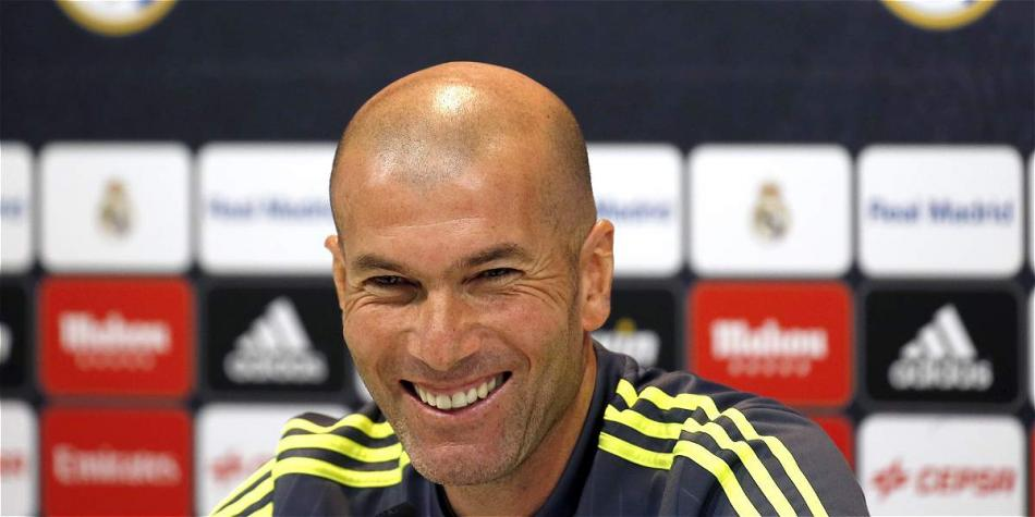 Zidane, DT de Real Madrid.