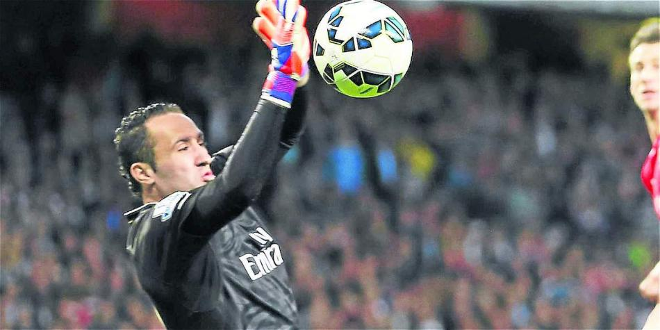 David Ospina, arquero de Arsenal.