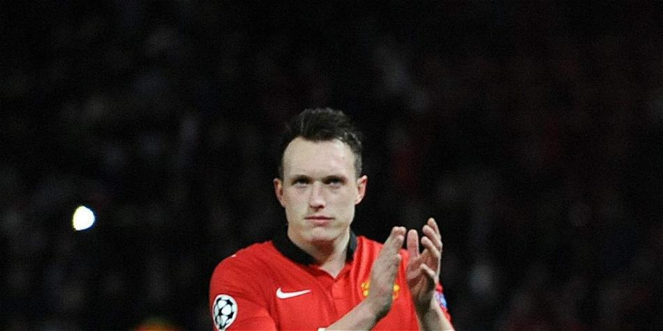 Phil Jones, defensor central de Manchester United.