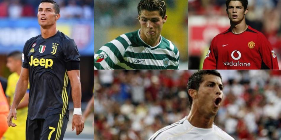 Así fueron las primeras temporadas de Cristiano Ronaldo en sus ... 675ea1d58966e