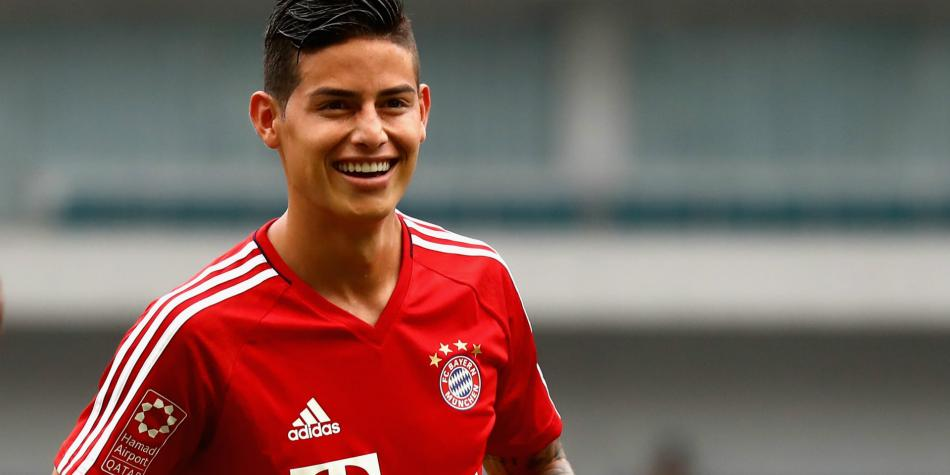 Actualidad en el Bayern Múnich — James Rodríguez