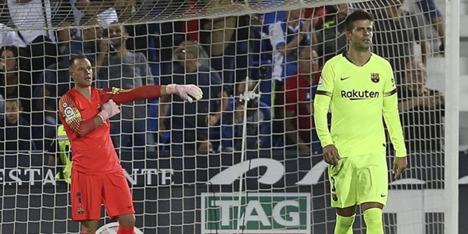 Barcelona sufrió su primera derrota de la temporada