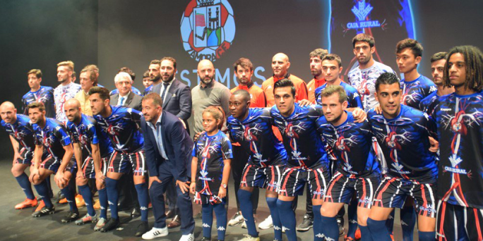 Nuevo uniforme del Zamora CF de la tercera división de España d0e234b4f0c7a