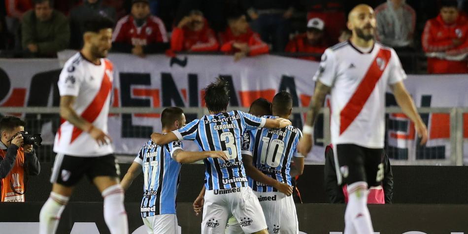 River Plate perdió con Gremio 995360aaa7b36
