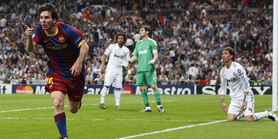 Estadísticas Lionel Messi contra el Real Madrid en el Santiago ...