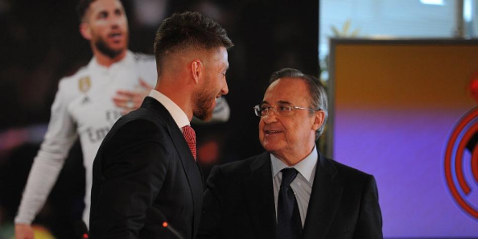 Sergio Ramos y la bronca con Florentino Pérez