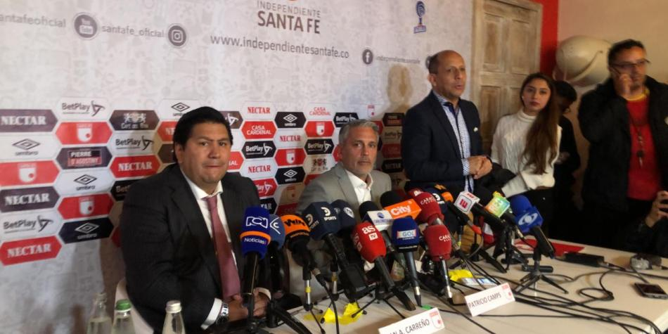 Patricio Camps es nuevo técnico de Santa Fe