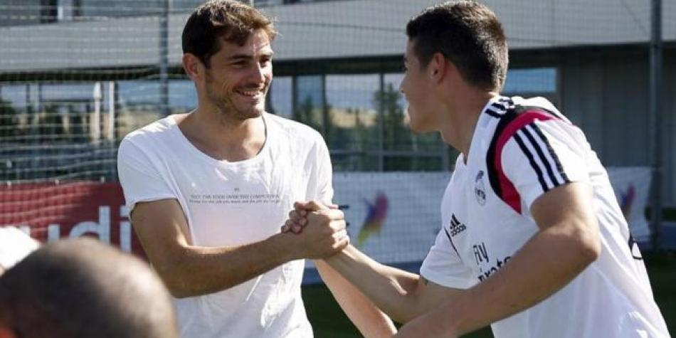 James y Casillas