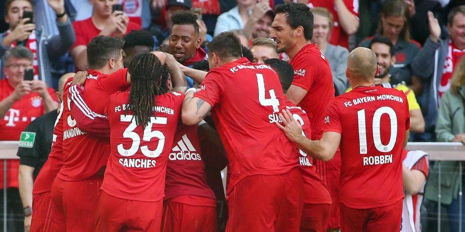 Bayern Múnich campeón de Bundesliga