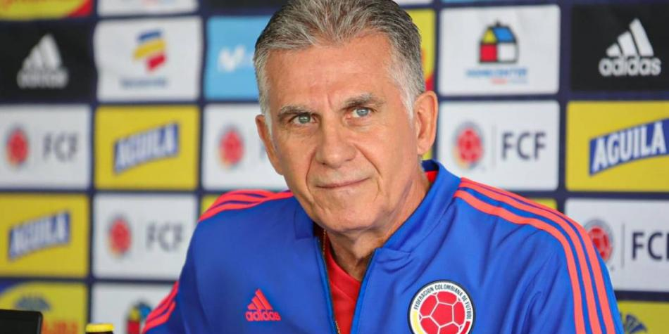 Carlos Queiroz DT Colombia