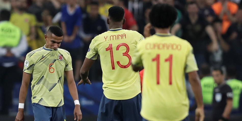 Jugador colombiano recibe amenazas tras eliminación en Copa América