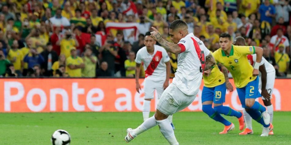 Vea El Gol De Paolo Guerrero Para Peru En La Final De La Copa America Vs Brasil Copa America Brasil 2019 Futbolred