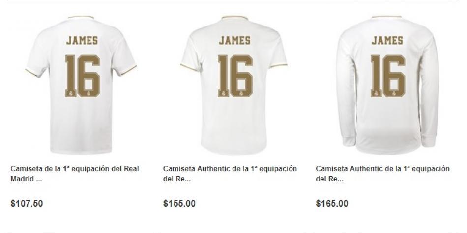 Camisetas James