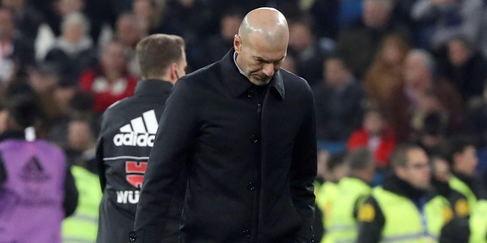 Zinedine Zidane enojado con sus jugadores: filtraron información ...